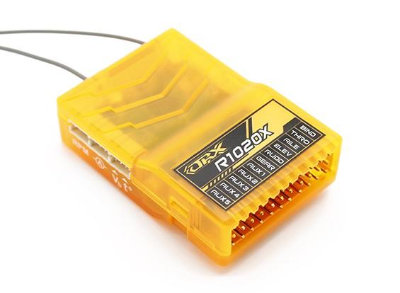 OrangeRx R1020X 10CH 2,4 DSM2 / DSMX CompFullRangeRx ж / SatDivAnt, F / S & CPPM