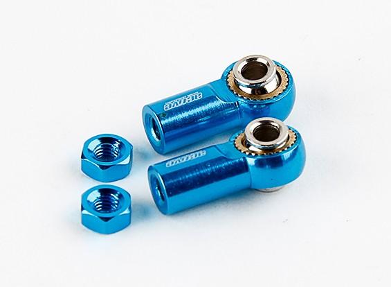 Активный хобби алюминиевый универсальный Ballend 20мм (синий)