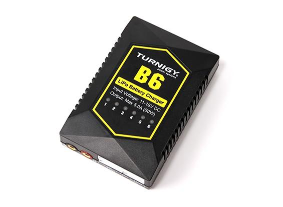 Turnigy B6 Компактный 50W 5A Автоматический баланс зарядное устройство 2 ~ 6S LiPoly
