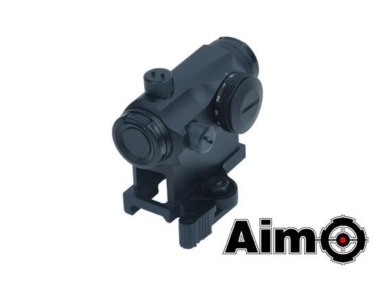 Цель-O T1 Micro Red-точечный прицел с QD High Mount (серебро)