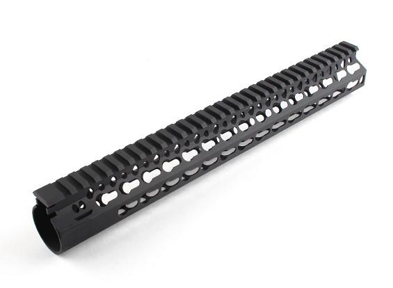 """Dytac Bravo Rail 13 дюймов для профиля Systema PTW (1 1/4 """"/ 18, черный)"""