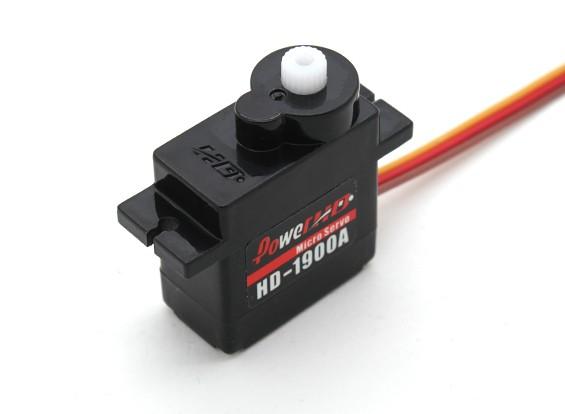 Мощность HD 1900A Servo 1.7кг / 0.08sec / 9g