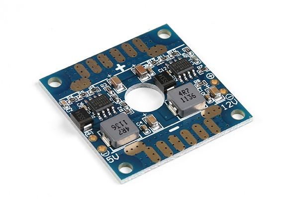 HobbyKing ™ Mini Dual БЭК и распределительный щит