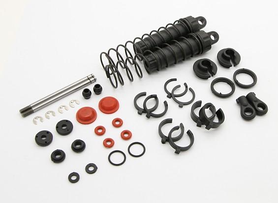 Задний Shock Set - BSR Гонки BZ-444 4WD 1/10 Гонки Багги