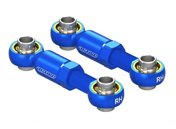 Активный Хобби Алюминиевый Регулируемая рулевая тяга 20 ~ 25 мм (синий)