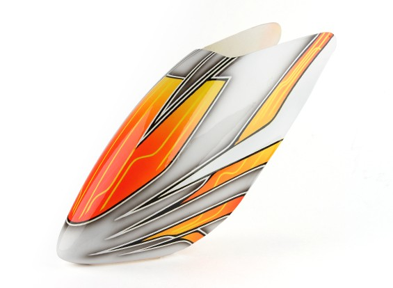 Turnigy High-End Стекловолокно Canopy для Trex / HK 500E (оранжевый)