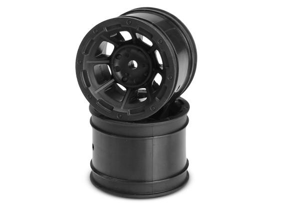 JCONCEPTS опасности 1/10-я кары Задний колесный диск - черный