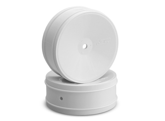 JCONCEPTS Буллит 1 / 10th Offroad 12mm Hex передний колесный диск - Белый