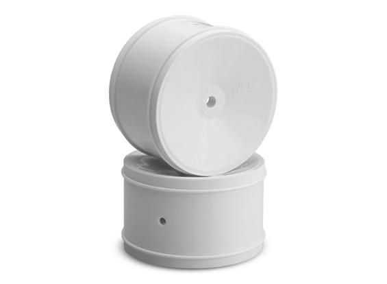 JCONCEPTS Буллит 1 / 10th Offroad 12mm Hex Задний колесный диск - белый
