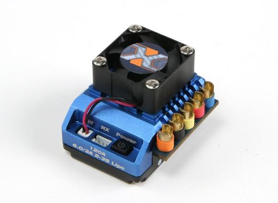 HobbyKing® ™ X-Car Beast серии ESC 1:10 Масштаб PRO 120A