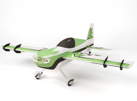 Hobbyking ™ EPP Мини Край 540T (зеленый) 3D ARF