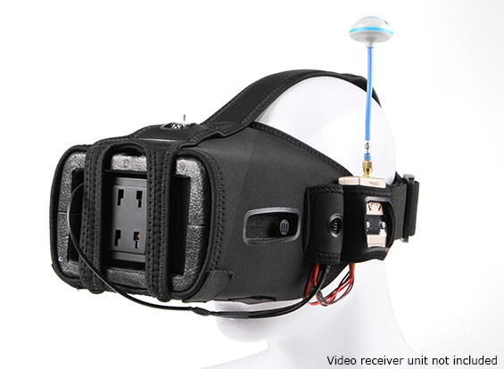 Quanum DIY FPV Goggle V2 ж / 5-дюймовый ЖК-монитор (Kit)