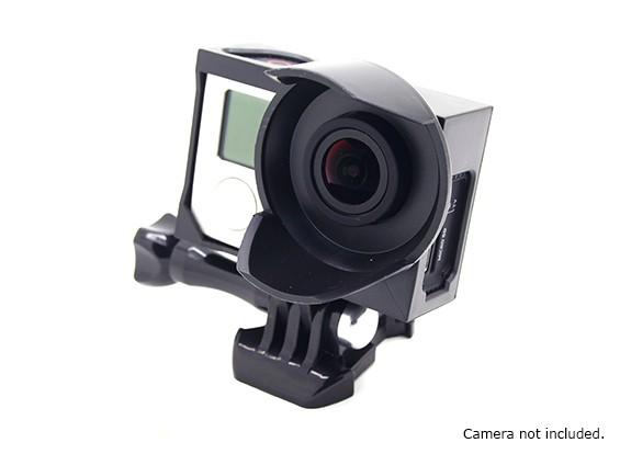 Штатив Колыбель Зонт Корпус для GoPro Hero 3, 3 плюс & 4 (черный)