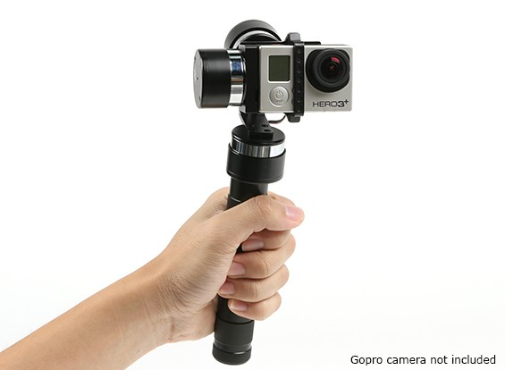 Z-1 Pro 3-Axis Ручной стабилизируя Gimbal для GoPro