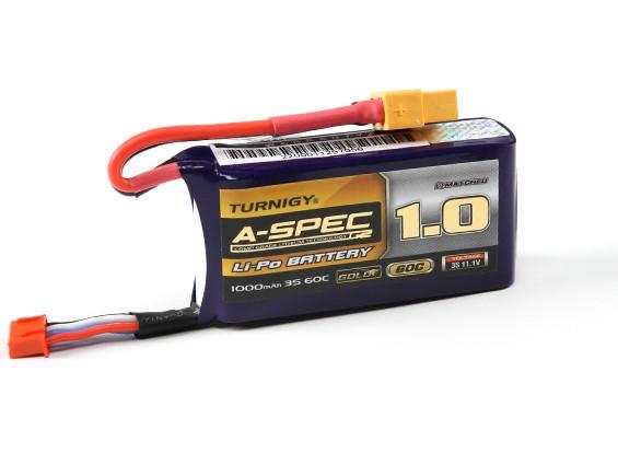Turnigy нано-технологий A-SPEC G2 1000mAh 3S 60 ~ 90C Lipo обновления