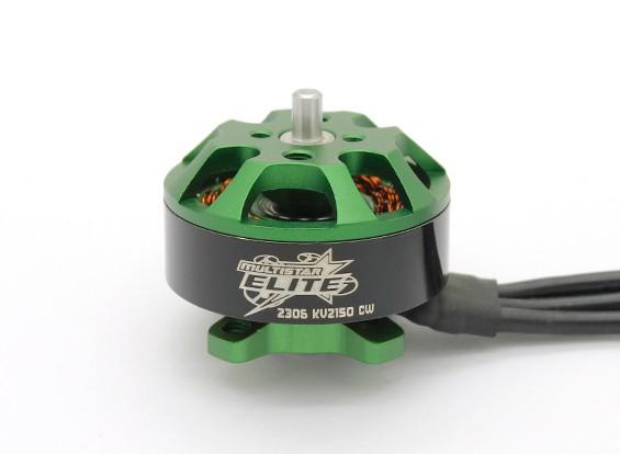 MULTISTAR Elite 2306-2150KV 'MINI MONSTER' Quad гоночный мотор (CW)