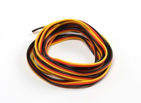 22AWG Servo Провод 2mtr (красный / черный / желтый)