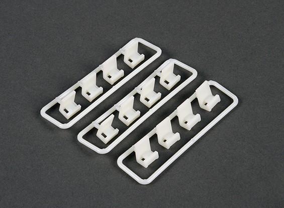 Кабельный заколка для галстука Монтажный комплект (12 шт)