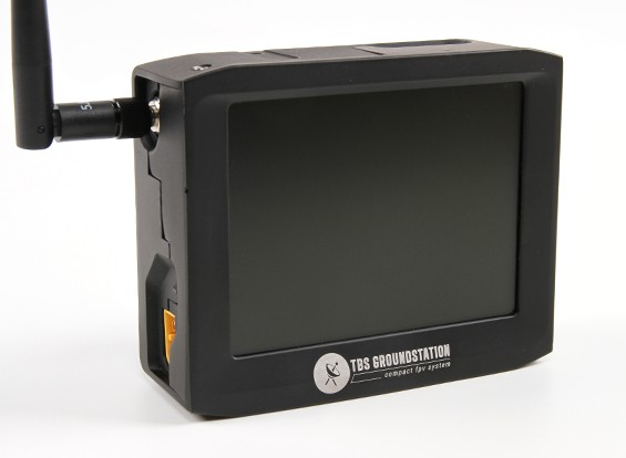 TBS FPV 4-дюймовый LCD 8Ch Dual Band 2,4 Groundstation