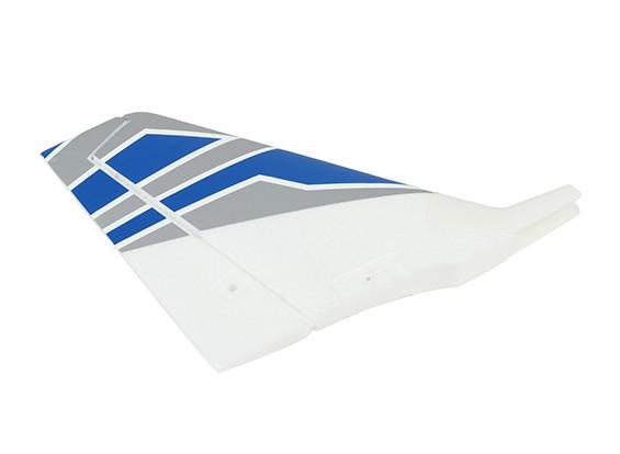 H-King Торнадо 75 EDF Jet - Замена вертикального оперения