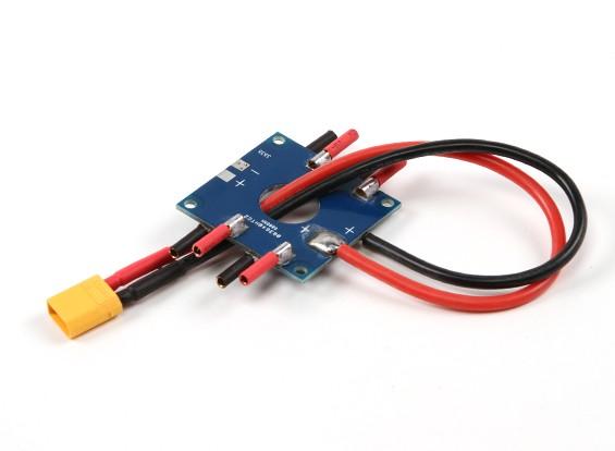 Hobbyking Mini Распределение электроэнергии Совет с XT30