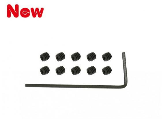 GAUI 100 & 200 Набор торцевых головок винтов (M2x2mmx10pcs) с H0.9 шестигранный ключ