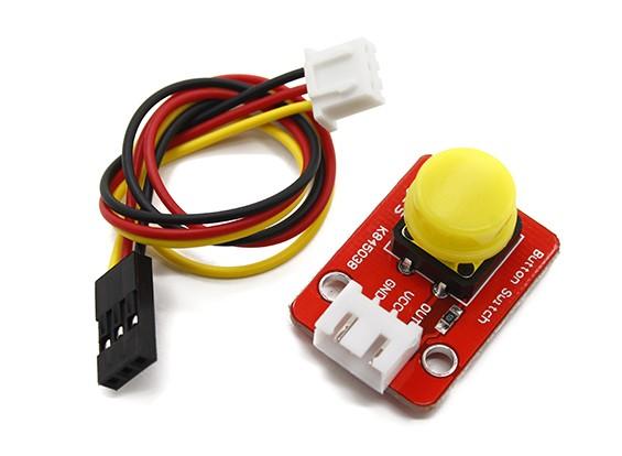 Киз Кнопка модуль с 3 Pin DuPont Линия для Arduino