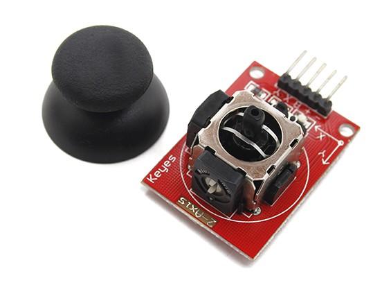 Кнопка Киз ДВУХВАЛЬНЫЙ управления джойстиком для Arduino