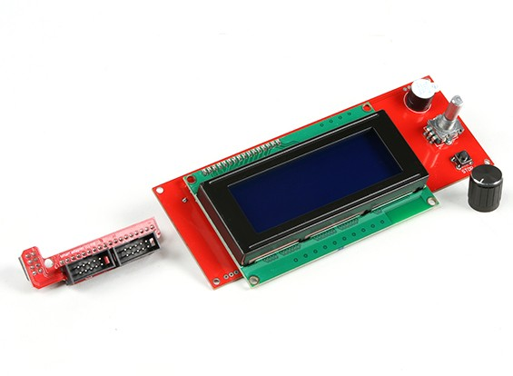 RepRap Интеллектуальный контроллер 3D-принтер (Рампы LCD управления с поворотной ручкой)