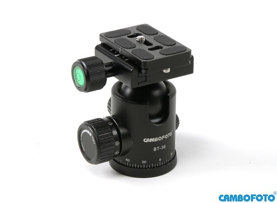 Cambofoto BT36 бальная система Головка для камеры Tri-Стручков