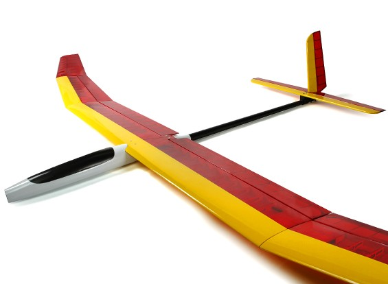 HobbyKing Эфира 3700mm Electric АЛЕС Glider V2 (АРФ)