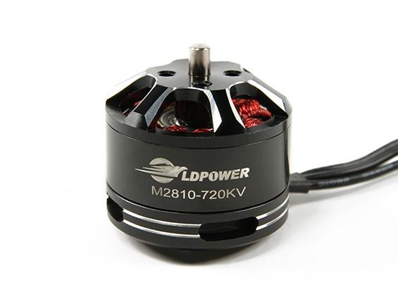 LDPOWER M2810-720KV Бесщеточный Multicopter Motor (CW)