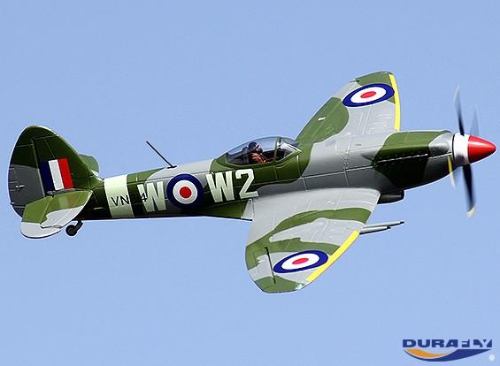 Durafly ™ Mk-24 с Spitfire втягивается / Nav / клапанами огни ж / 40A ESC (ПНФ)