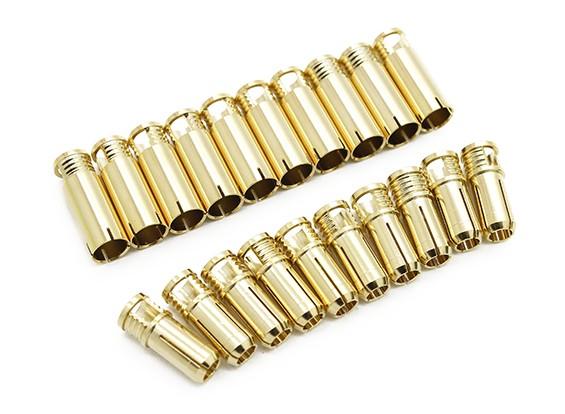 Штепсельные 6мм Supra X Gold (10 пар)