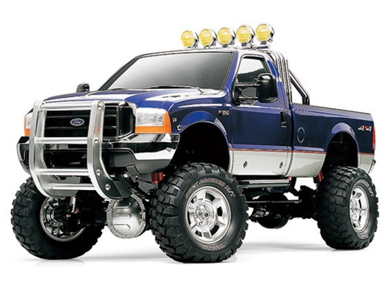 Tamiya 1/10 Scale Ford F350 High-Lift Truck Kit 58372
