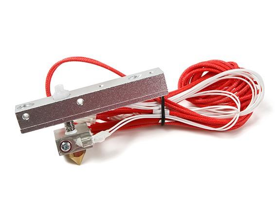 Print-Rite DIY 3D принтер - сопло с проводами