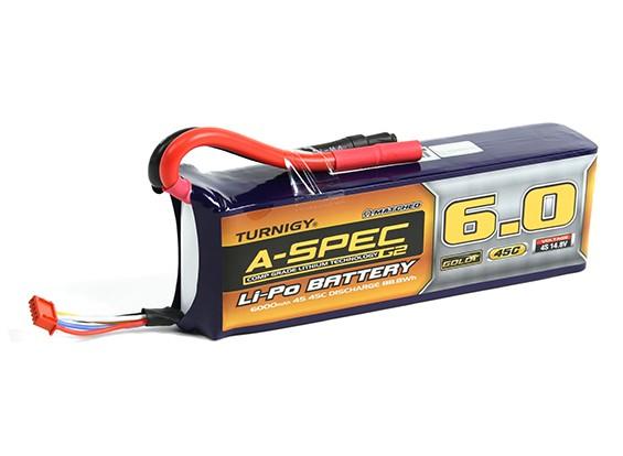 Turnigy нано-технологий A-SPEC G2 6000mAh 4S 45C Lipo обновления