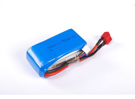 HobbyCity 1500 3S1P 20-30C LiPoly Аккумулятор ж / Conn