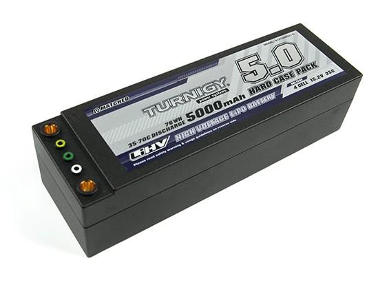 Turnigy LiHV 5000mAh 4S 15.2V 35C Hardcase пакет