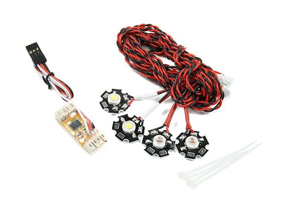 Система Quanum Quadcopter навигации светодиодные