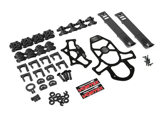 ImmersionRC - Vortex 285 Краш Kit 1, пластиковых деталей - черный