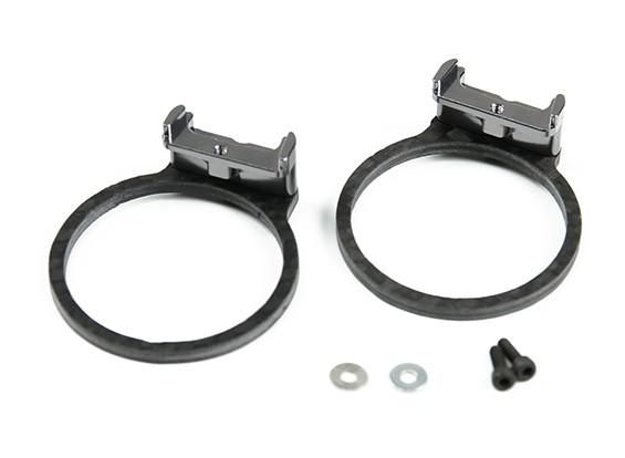 Таро защиты двигателя Набор для TL280 углеволокно (Gray)