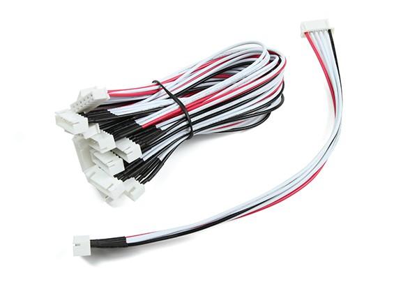 JST-XH 5S провода выдвижения 20cm (10pcs / мешок)