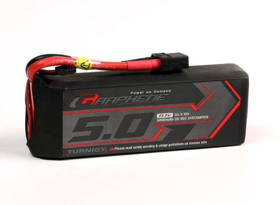 Turnigy 5000mAh 3S Графен 45C LiPo Аккумулятор ж / XT90