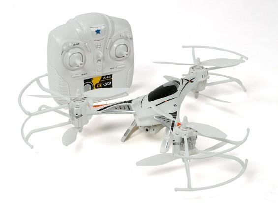 CX-33 Tricopter ж / HD камера, 2,4 ГГц Режим 1 / Режим 2 Переключаемый Tx (RTF)