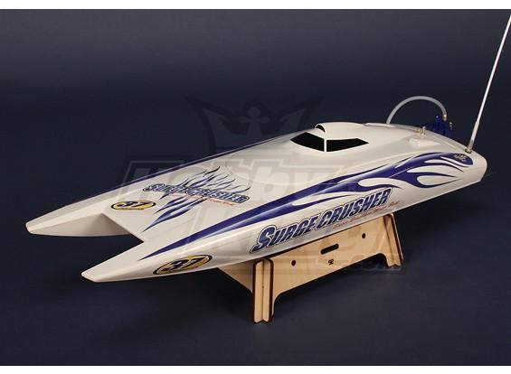 Супер Surge Crusher 90А Twin-Hull R / C лодка (730mm) Plug-N-Drive