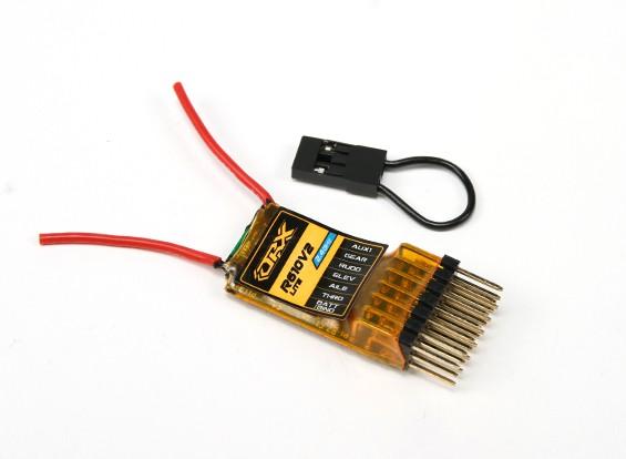 OrangeRx R610V2 Lite DSM2 Совместимость 6CH 2,4 ГГц приемник ж / CPPM