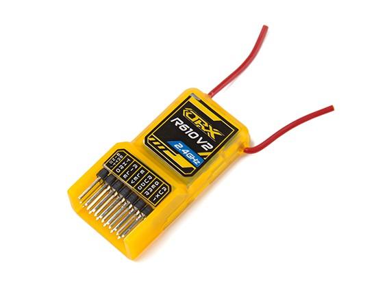 OrangeRx R610V2 DSM2 Совместимость 6CH 2,4 ГГц приемник ж / CPPM