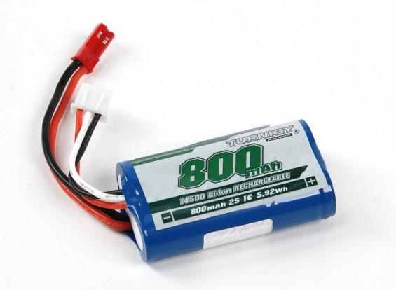 Turnigy 14500 Li-иона 800mAh 2s 7.4V