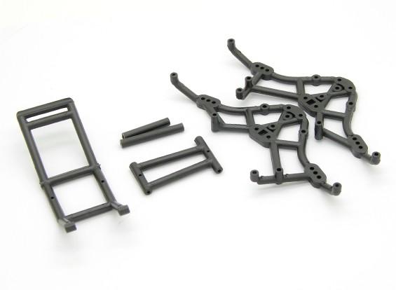 Ролл Клетка - раздолбай RockSta 1/24 4WS Mini Rock Crawler